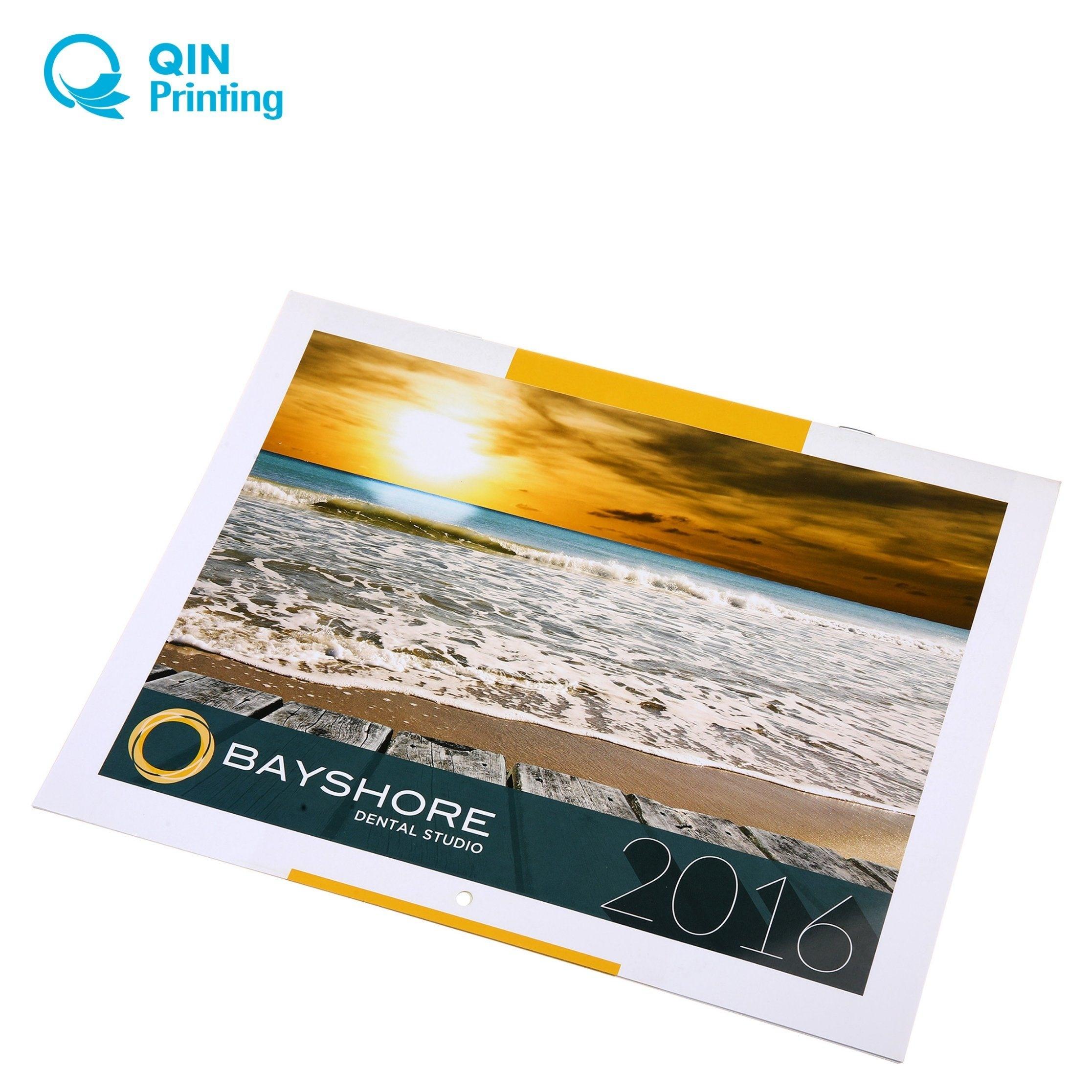 [Hot Item] 2018 Standard A4 Wholesale Wall Calendar Printing_A4 Wall Calendar Printing
