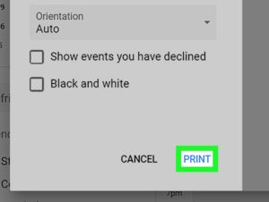 How To Print Your Google Calendar: 7 Steps (With Pictures)_Printing Google Calendar With Details