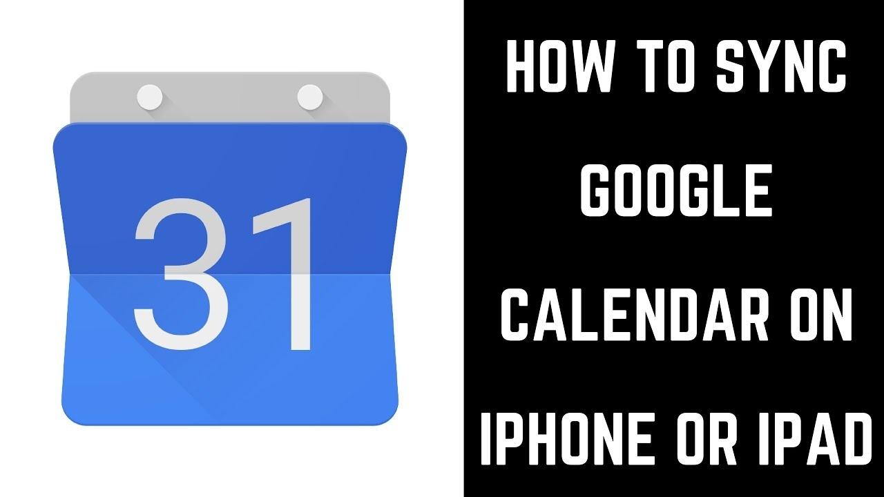 How To Sync Google Calendar On Iphone Or Ipad_Iphone 4 Calendar Icon
