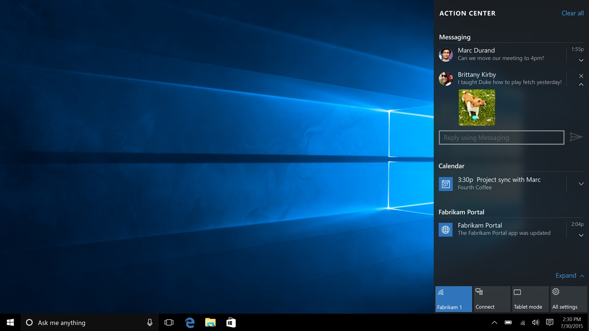 How To Tweak The Windows 10 Action Center To Make It Less Annoying_Calendar Icon Windows 10