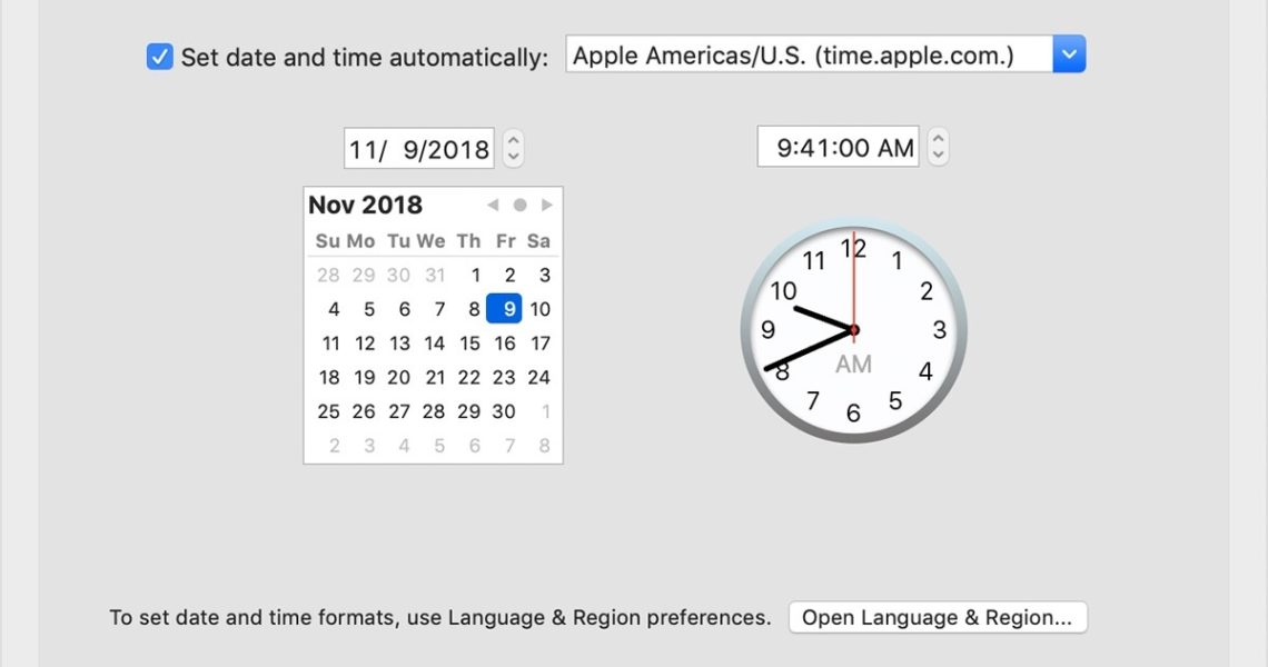 If The Date Or Time Is Wrong On Your Mac - Apple Support_Calendar App Icon Shows Wrong Date