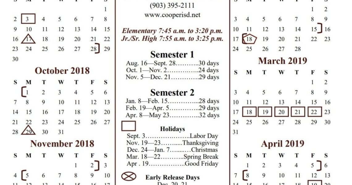 Impressive A&m School Year Calendar • Printable Blank Calendar Template_A&m School Year Calendar