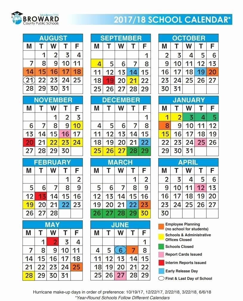 Impressive Broward County School Calendar • Printable Blank Calendar_Calendar School 2020 Broward