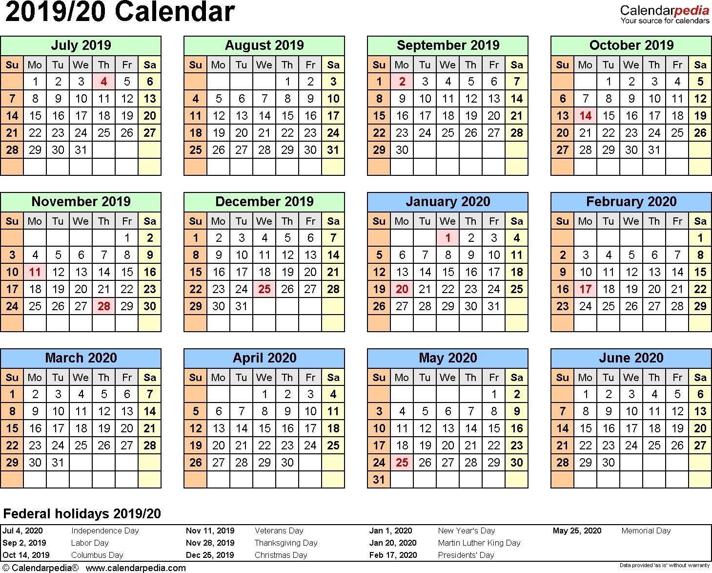 Impressive School Calendar Botswana 2019 • Printable Blank Calendar_School Calendar Template 2020-19