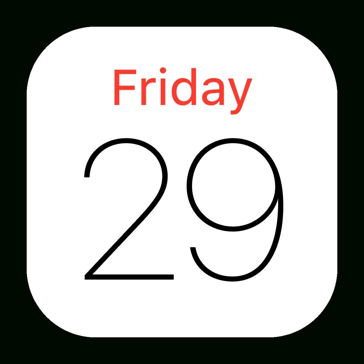 Iphone Calendar Apps Logo - Logodix_I Lost Calendar Icon On Iphone