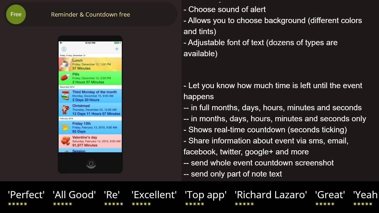 Iphone Calendar Event Countdown • Printable Blank Calendar Template_Calendar Countdown On Iphone