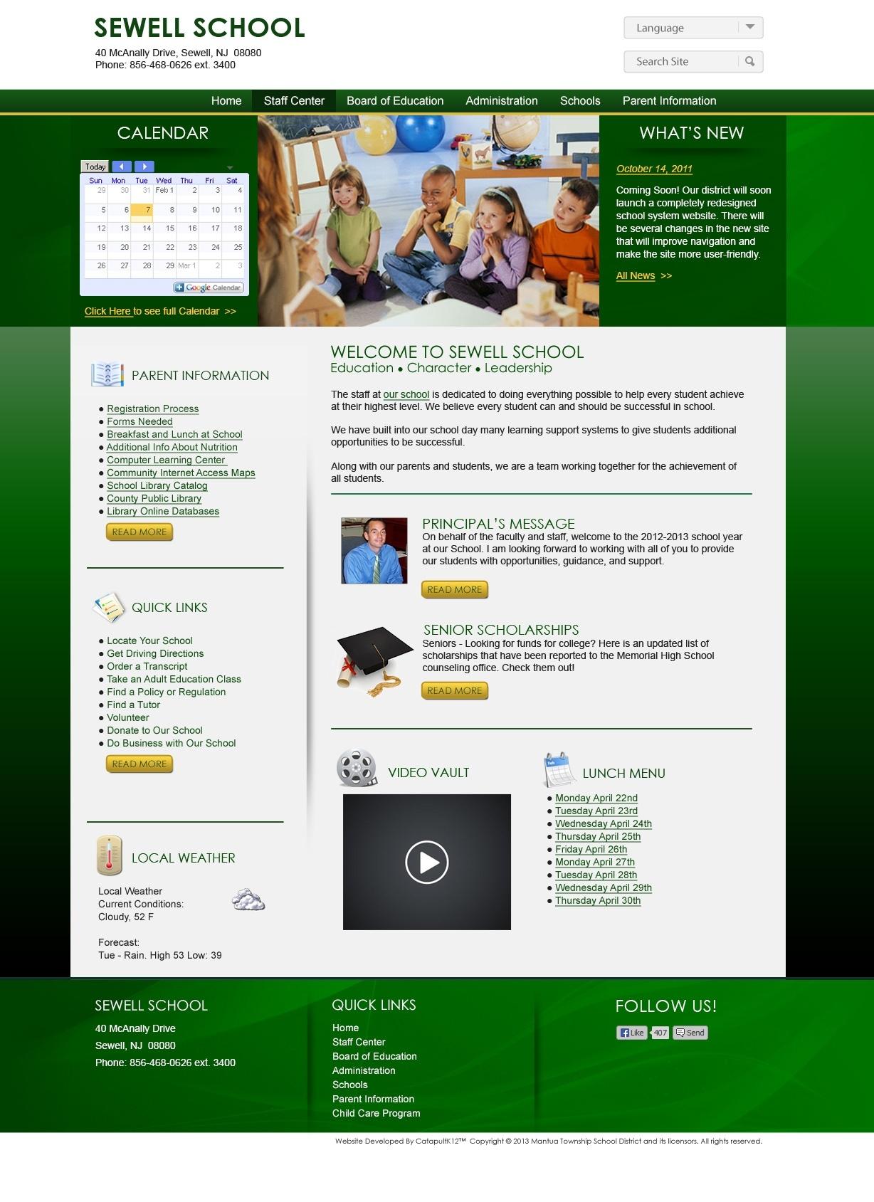 J. Mason Tomlin School_J Mason Tomlin School Calendar