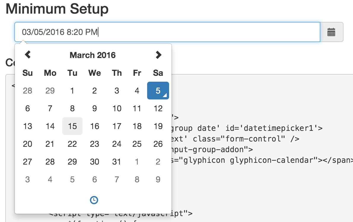 Jquery Datepicker With Calendar Icon Example • Printable Blank_Jquery Datepicker With Calendar Icon Example