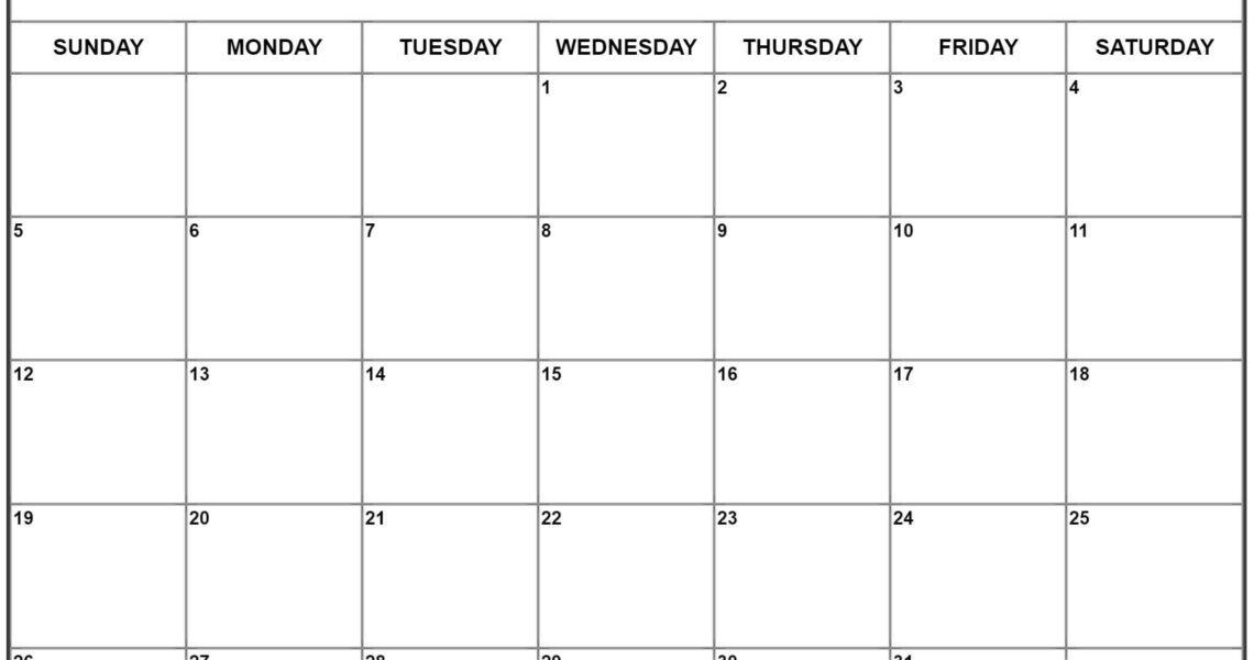 July 2020 Calendar | Free Printable Monthly Calendars_Blank Calendar Page July 2020