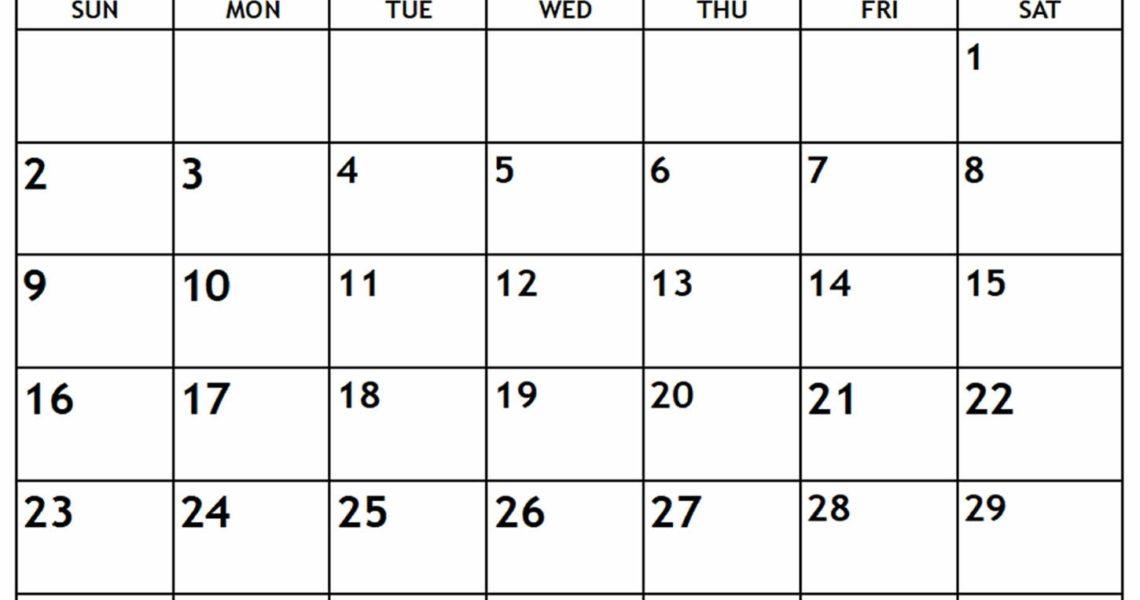 June 2019 Calendar - Free-Printable-Calendar_Calendar For Printing June 2019