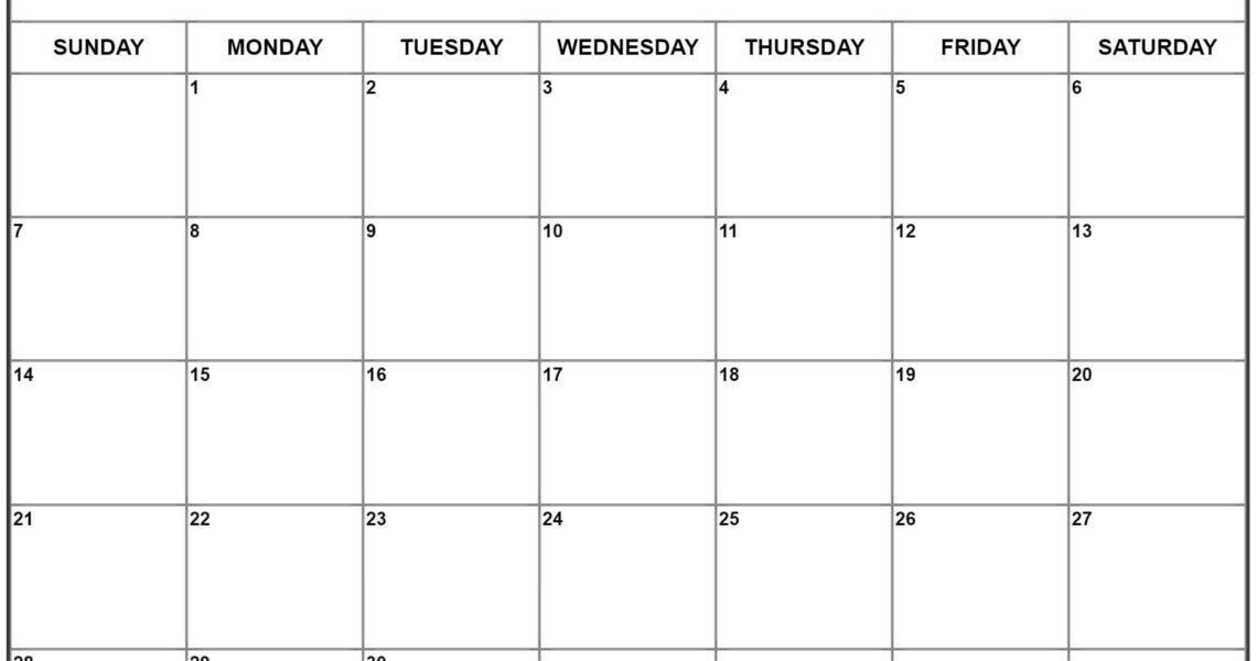 June 2020 Calendar | Free Printable Monthly Calendars_Calendar Blank June 2020