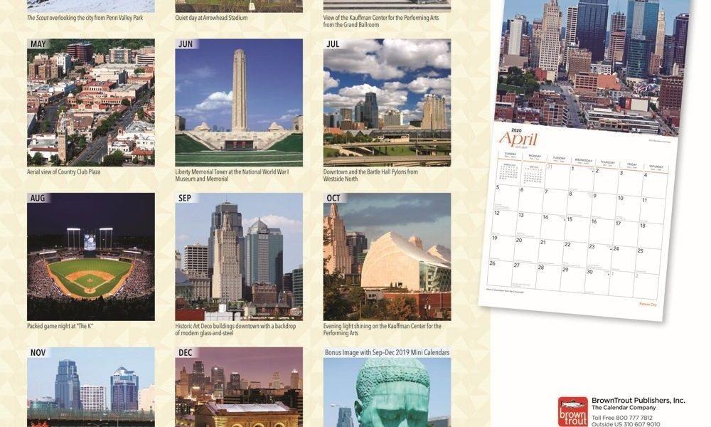 Kansas City 2020 Wall Calendar_Calendar Printing Kansas City Ks