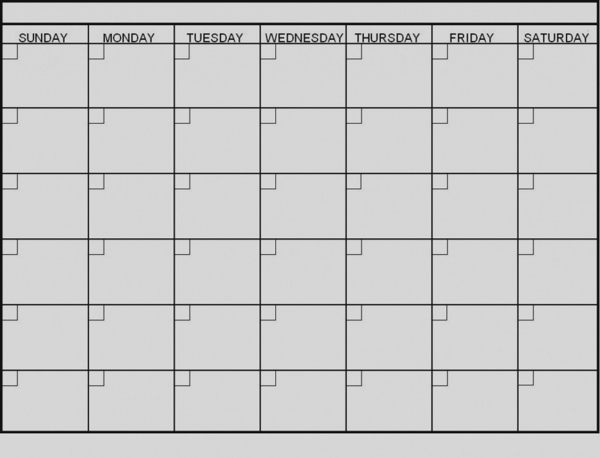 Latest Blank 6 Week Calendar Template Printable 2 Planner 2018-6_6 Week Blank Calendar Printable