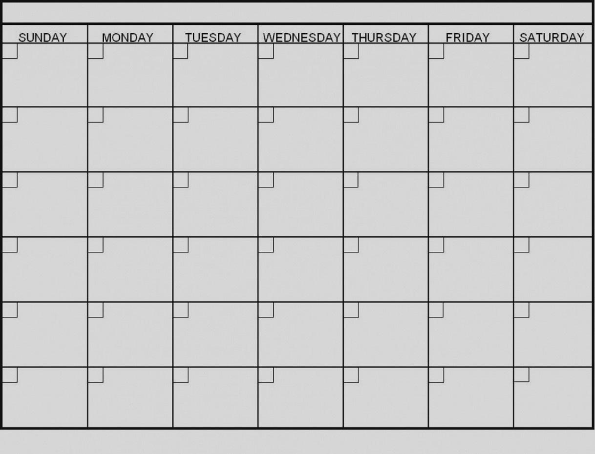 Latest Blank 6 Week Calendar Template Printable 2 Planner 2018_Blank Calendar Template 6 Weeks