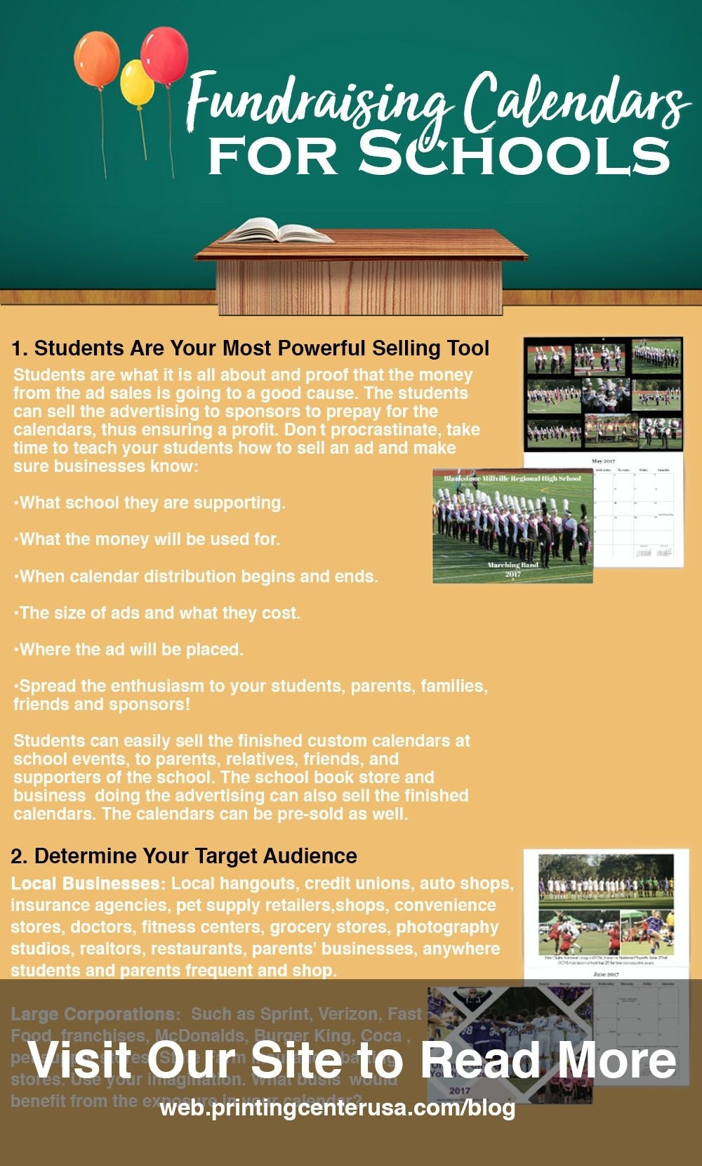 Learn How To #fundraise Using #calendars For Your Next #school_Calendar Printing For Fundraiser
