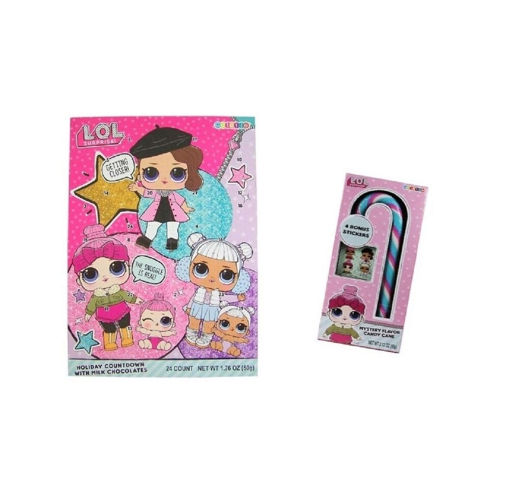 Lol Surprises Chocolate Countdown Calendar And Jumbo Mystery Flavor Candy  Can  </p>   </div>        <br>     <div class=