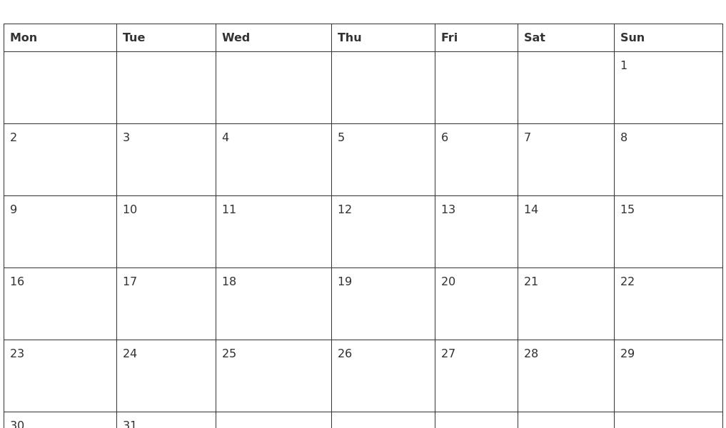 March 2020 Blank Calendar Template_Calendar Blank March 2020