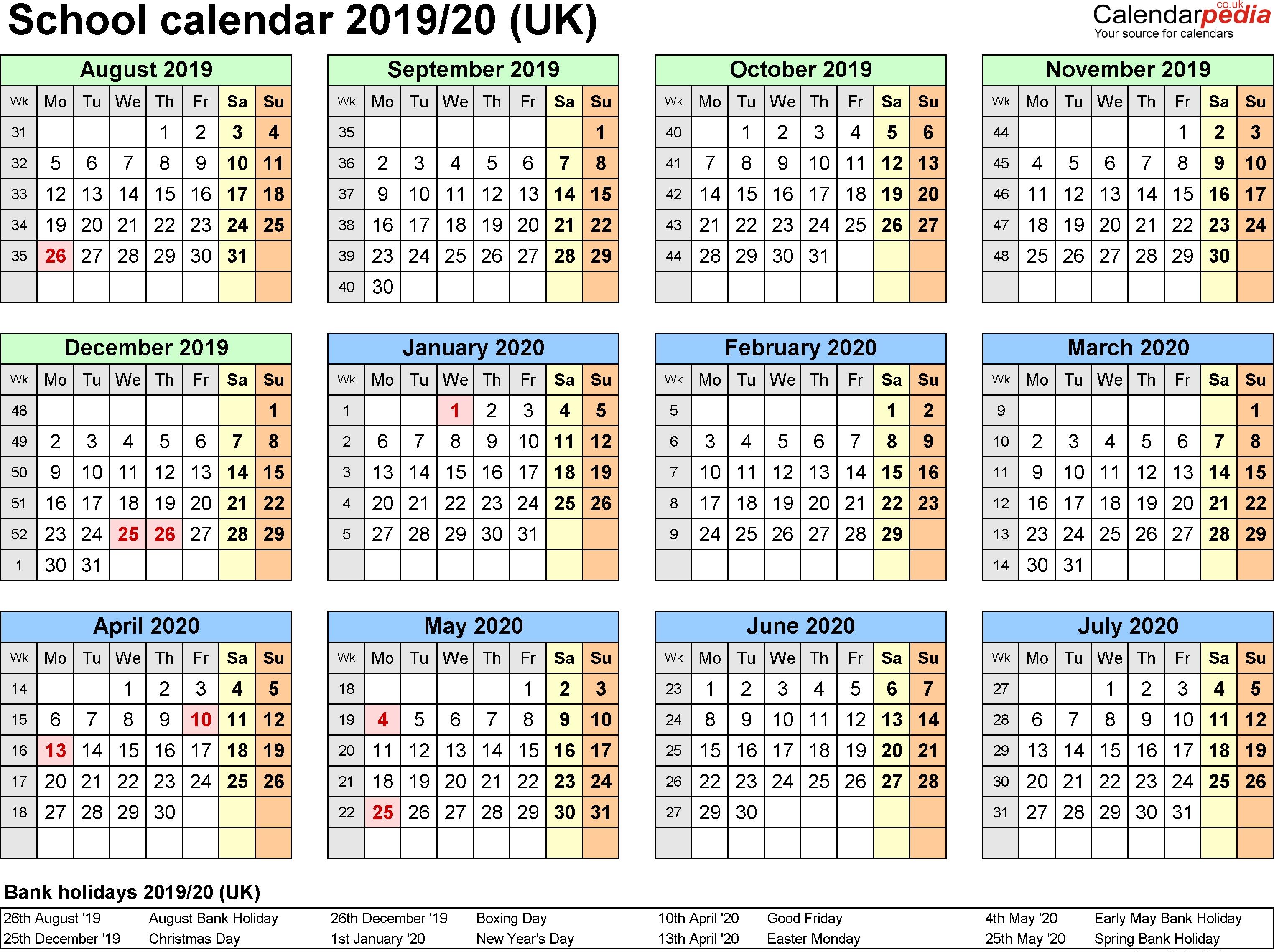 May-2019-Calendar-With-Holidays-Uk-November-2019-Calendar-With_Calendar School Nsw 2020