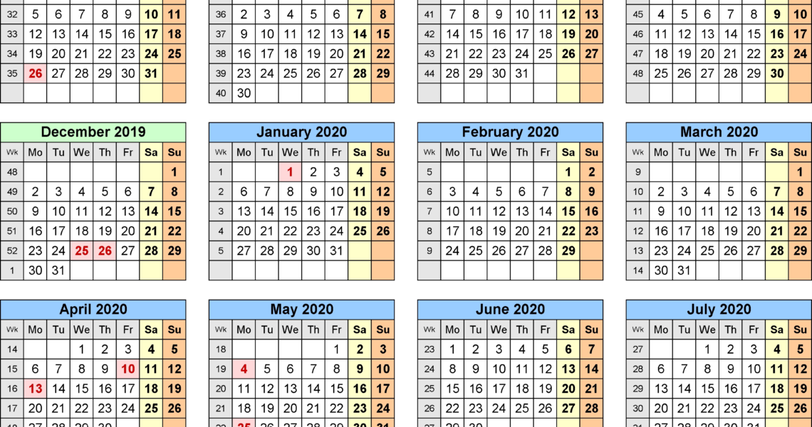 May-2019-Calendar-With-Holidays-Uk-November-2019-Calendar-With_School Calendar January 2020