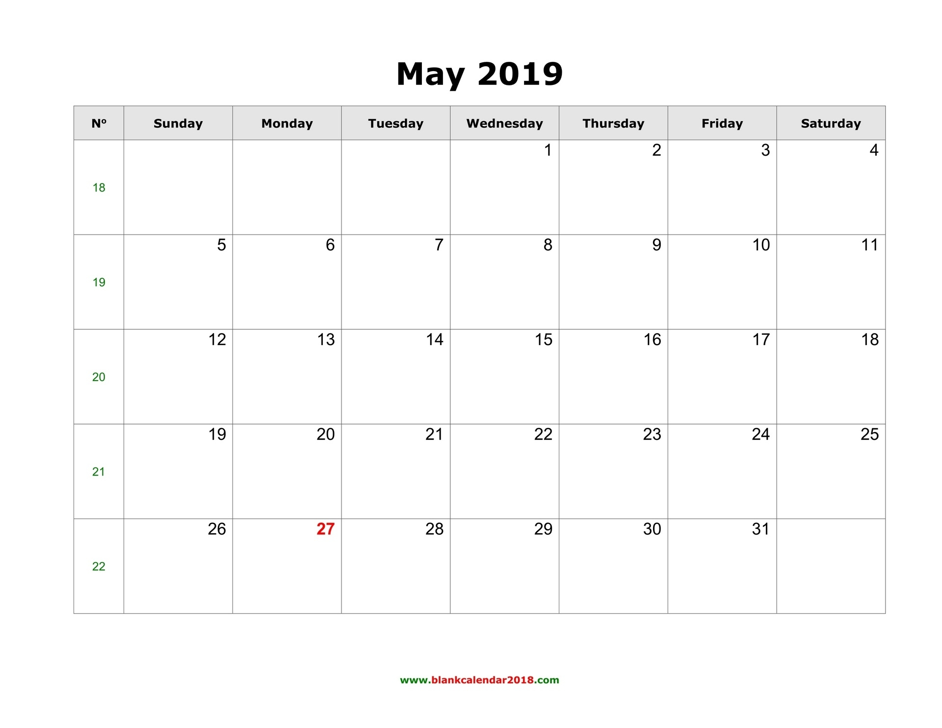 May Calendar 2019 - Yeder.berglauf-Verband_Printing Calendar In Word