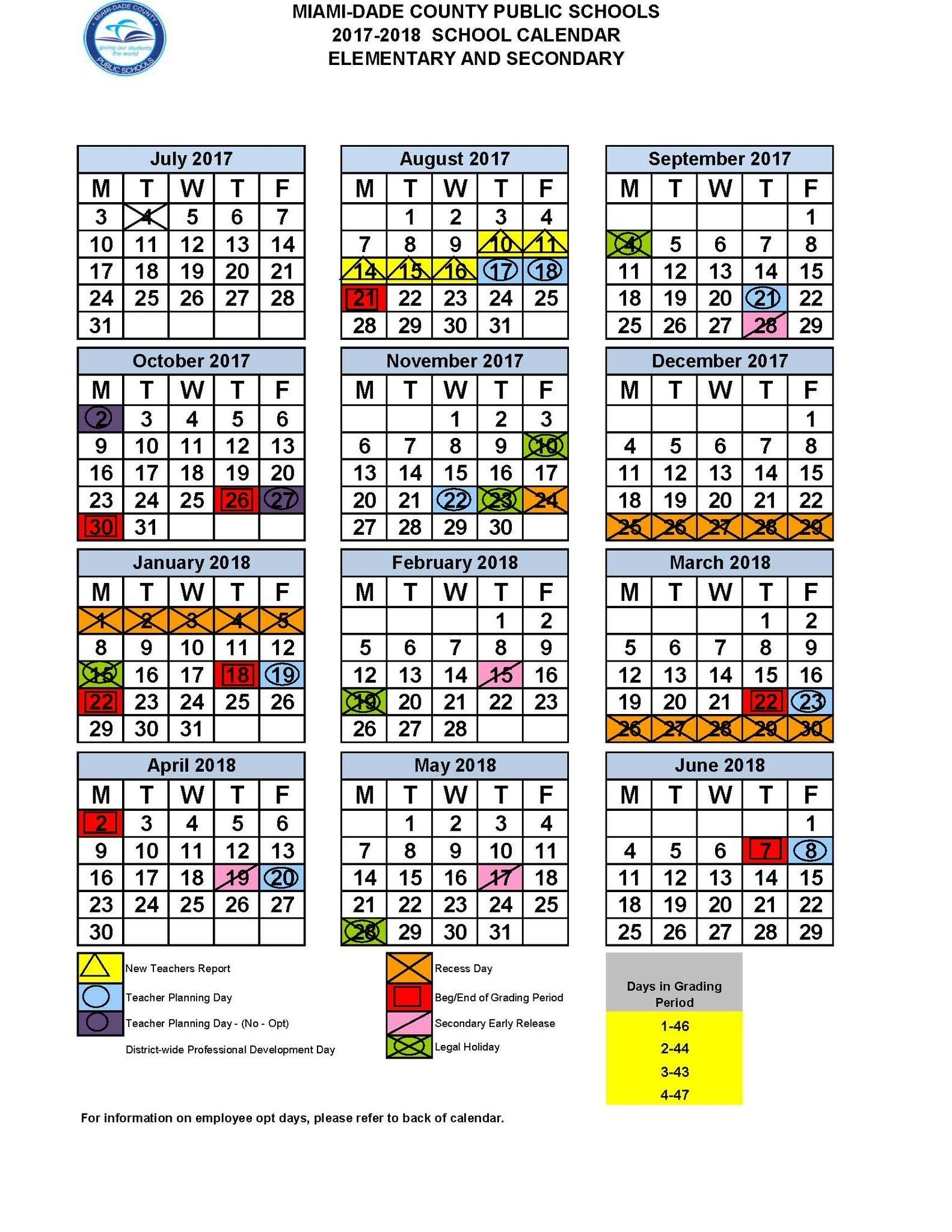 "Miami Dade Schools On Twitter "" Mdcps School Board Approves 2017_Calendar School Year Miami Dade"
