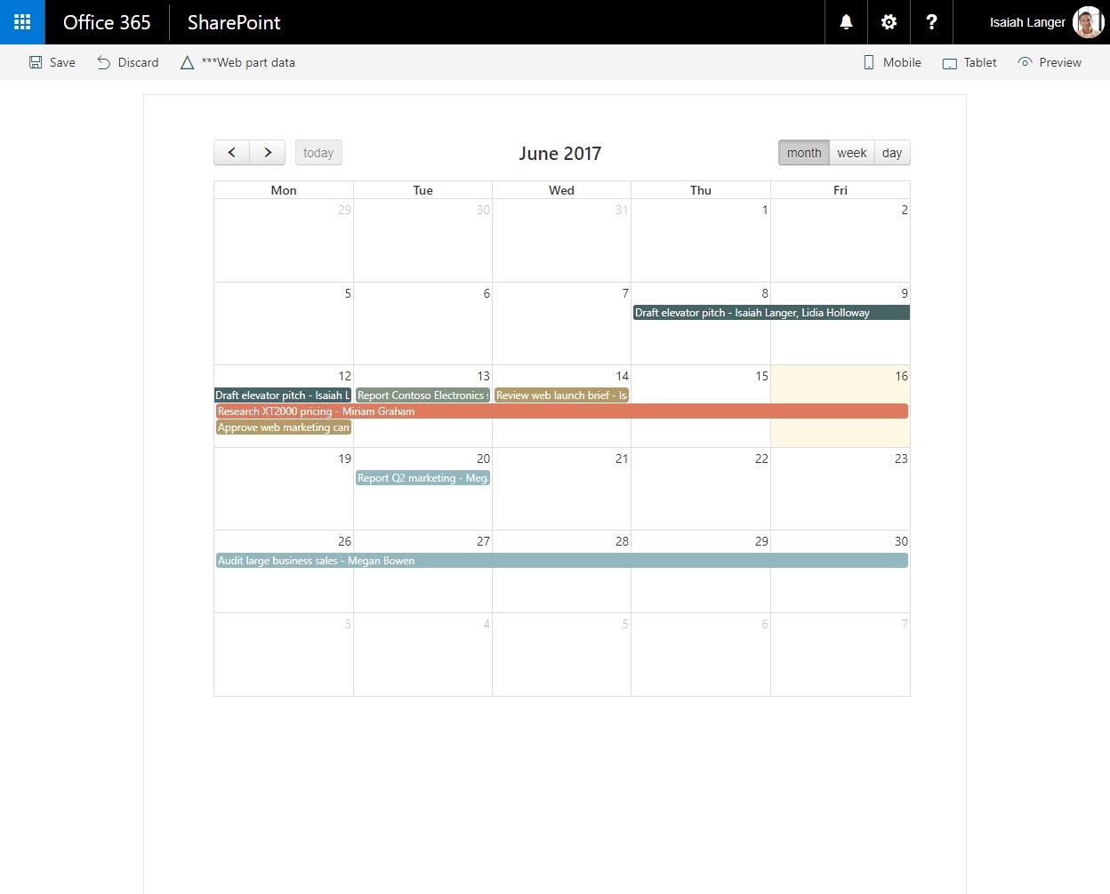 Migrate Jquery And Fullcalendar Solution Built Using Script Editor_Full Calendar Icon Event