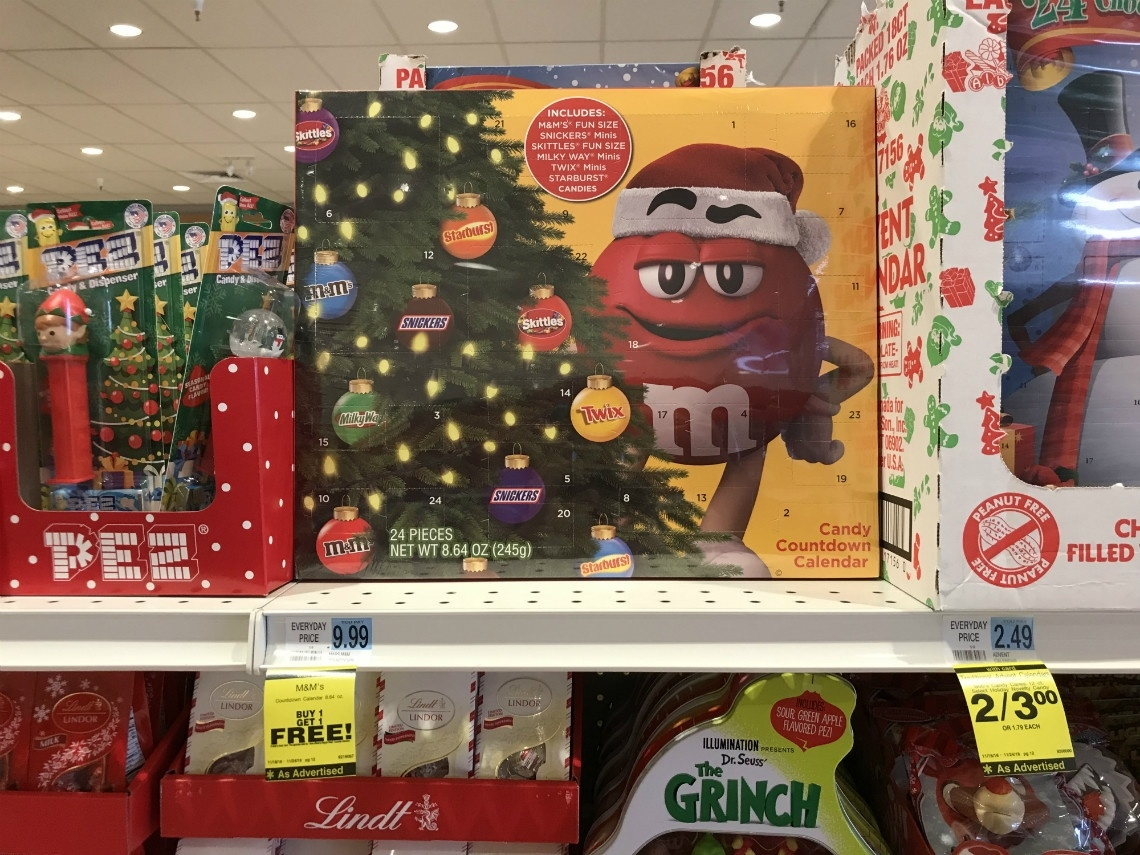 M&m's Countdown Calendar, Only $5.00 At Rite Aid! - A Couponer's Life_Calendar Countdown To Buy