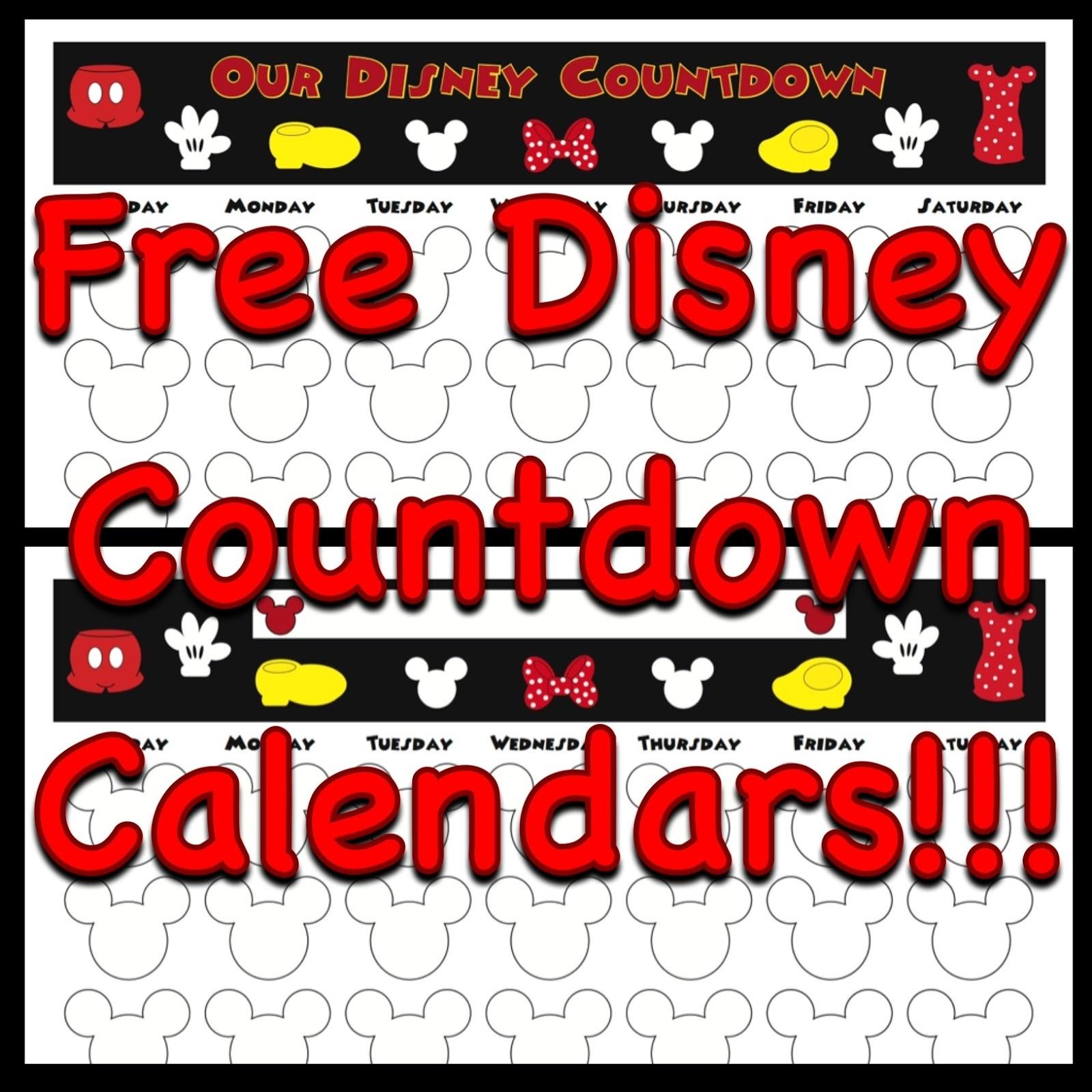 My Disney Life: Countdown Calendars_Countdown Calendar For Cruise