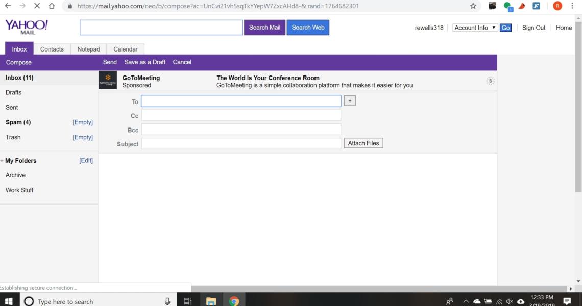 No Calendar Icon In Yahoo Mail • Printable Blank Calendar Template_No Calendar Icon In Yahoo Mail