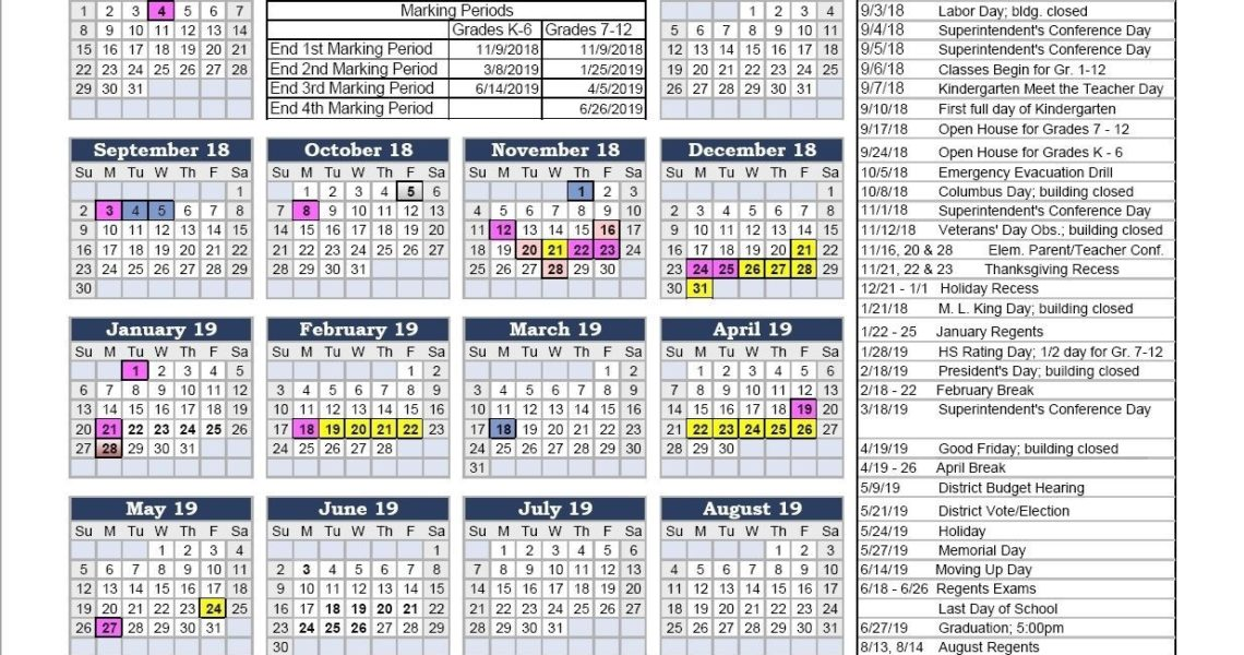 Nyc Doe Calendar 2017 2018 2016 17 School Calendar – Draw.alima_School Calendar 18-19 Nyc
