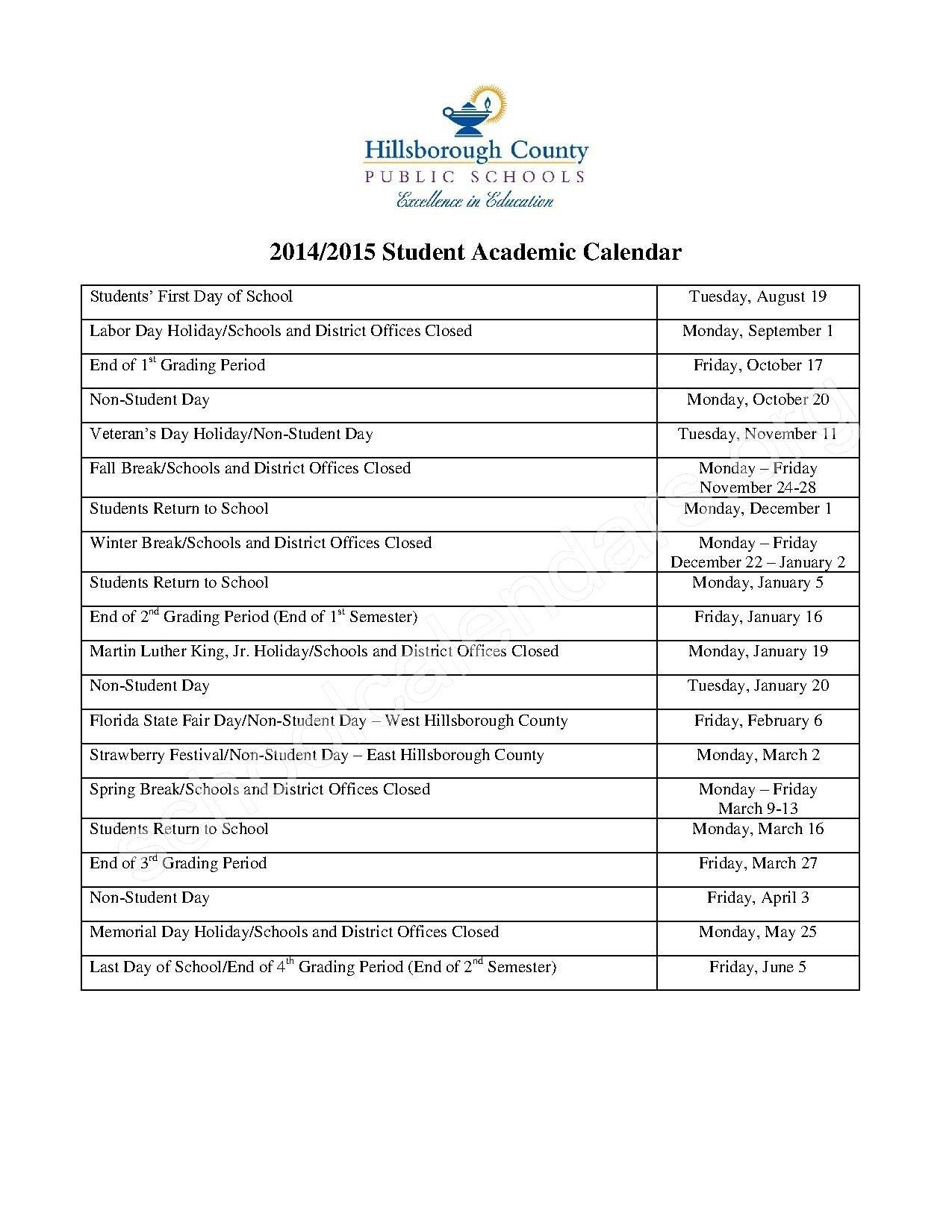Orange County School Calendar 2016 | Nicegalleries_School Calendar Orange County