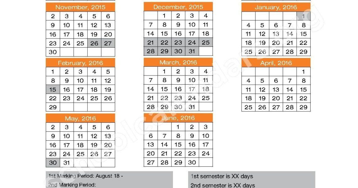 Orange County School Calendar Printable File Download_School Calendar In Orange County Fl