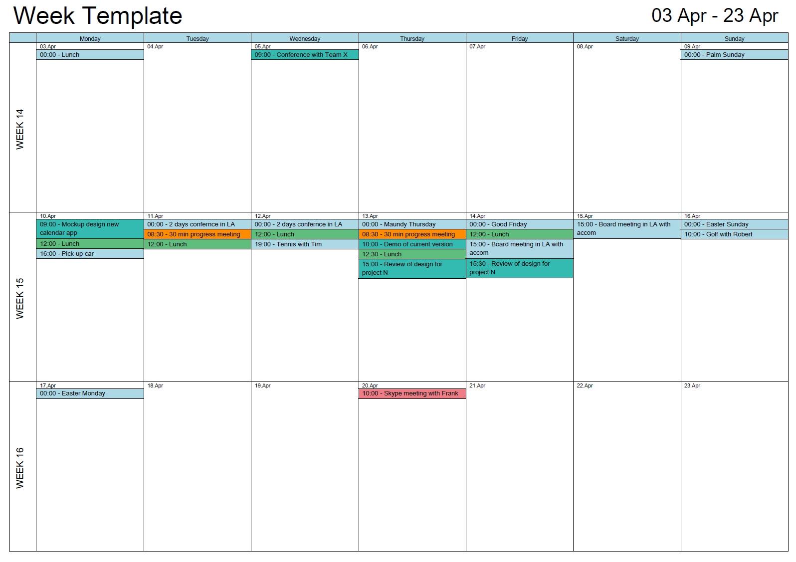 Outlook Calendar Print_Outlook Calendar Printing Tools