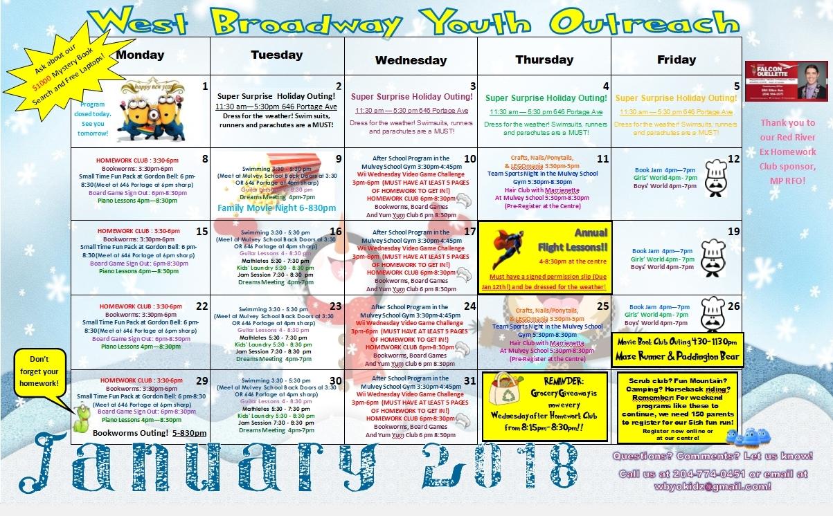 Perky West G School Calendar • Printable Blank Calendar Template_West G School Calendar