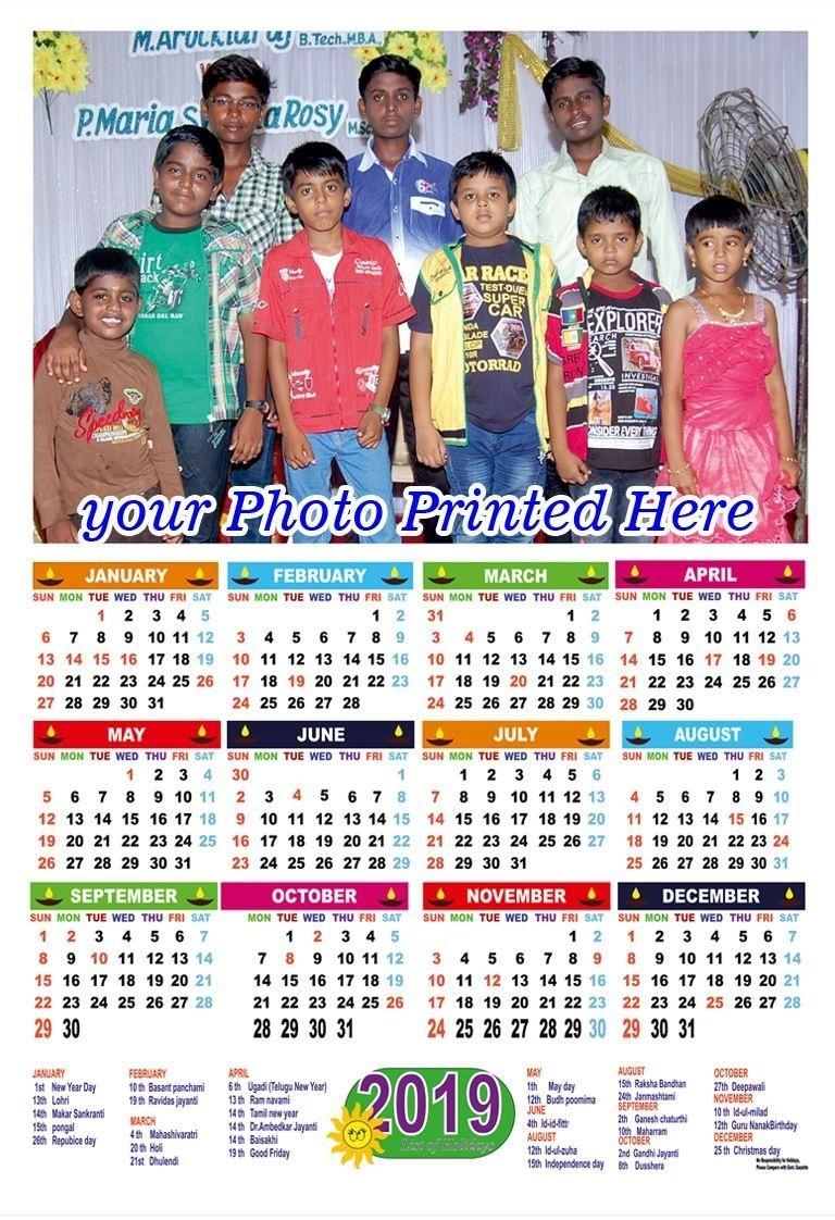 Photo Calendar Printing 2020_Calendar Printing With Photos