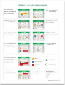 Pierce City R-Vi School District_Sad 4 School Calendar