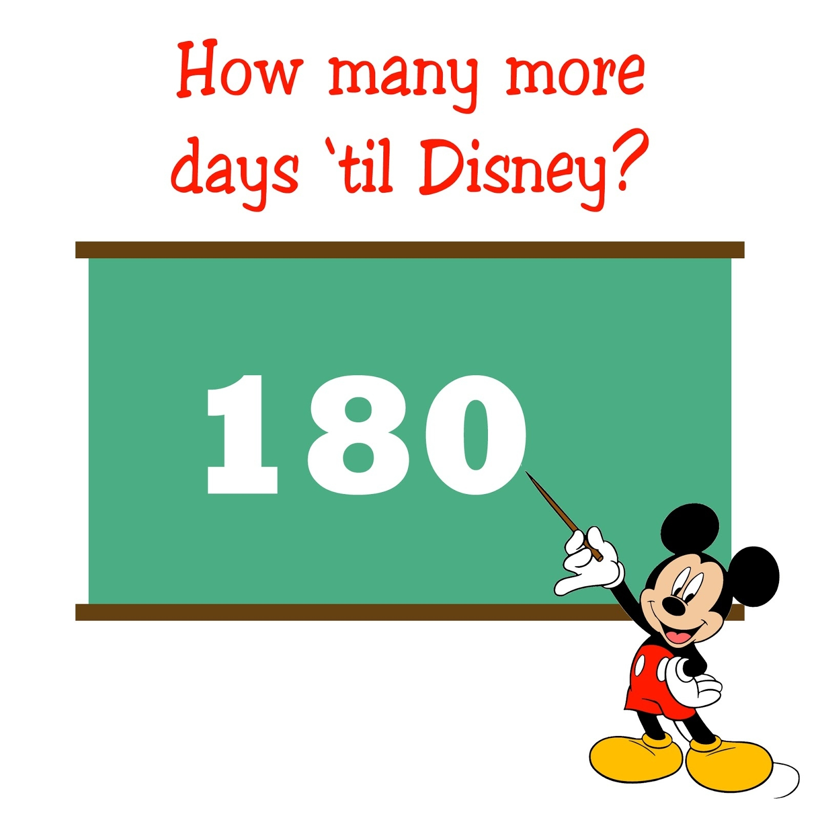 Pixie Dust Planning: Be Our Guest - Everything And Anything You_Disney Countdown Calendar 180 Days