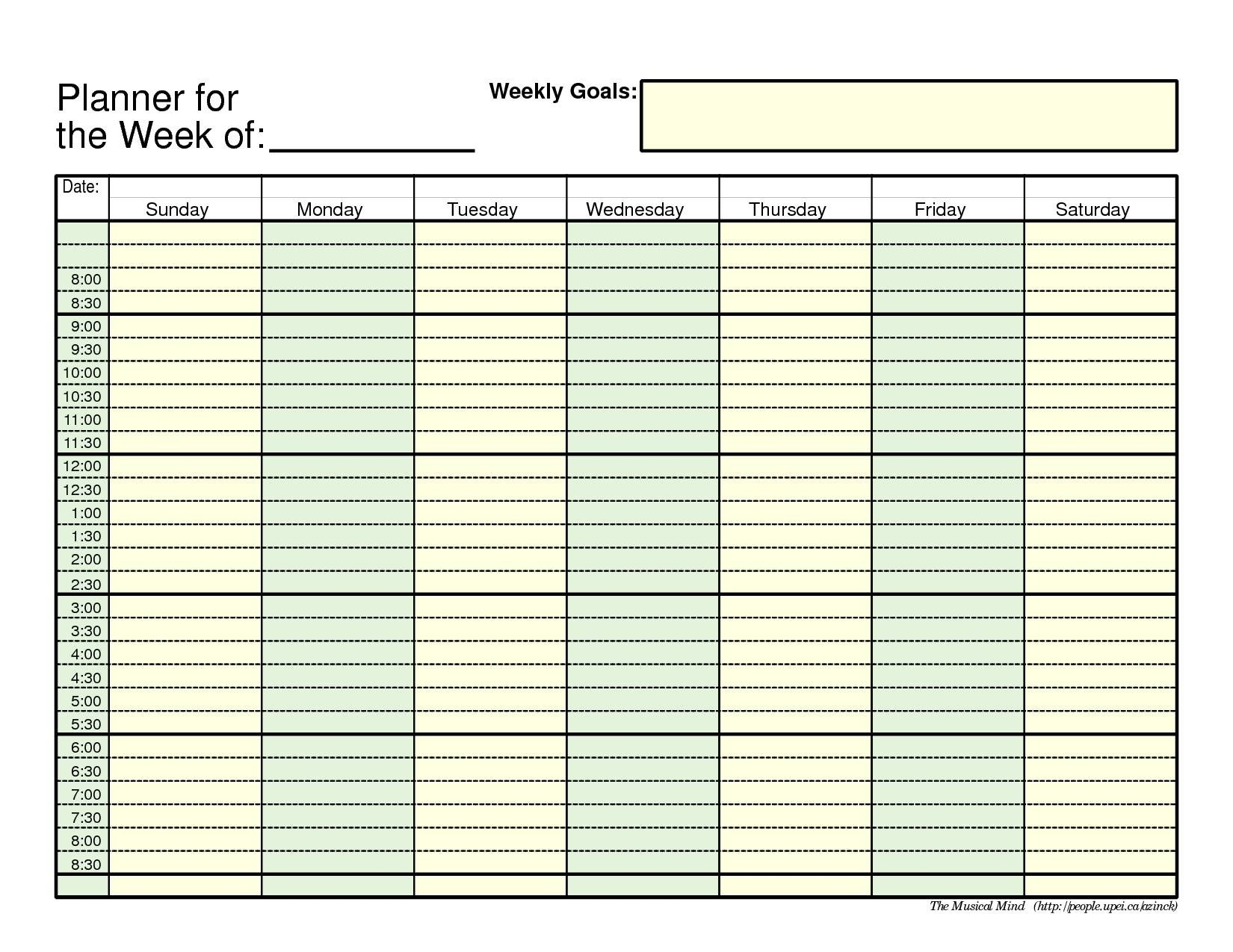Print Blank Week Calendar Outlook Printable For Free Of Cost Weekly_Outlook Calendar Printing Blank