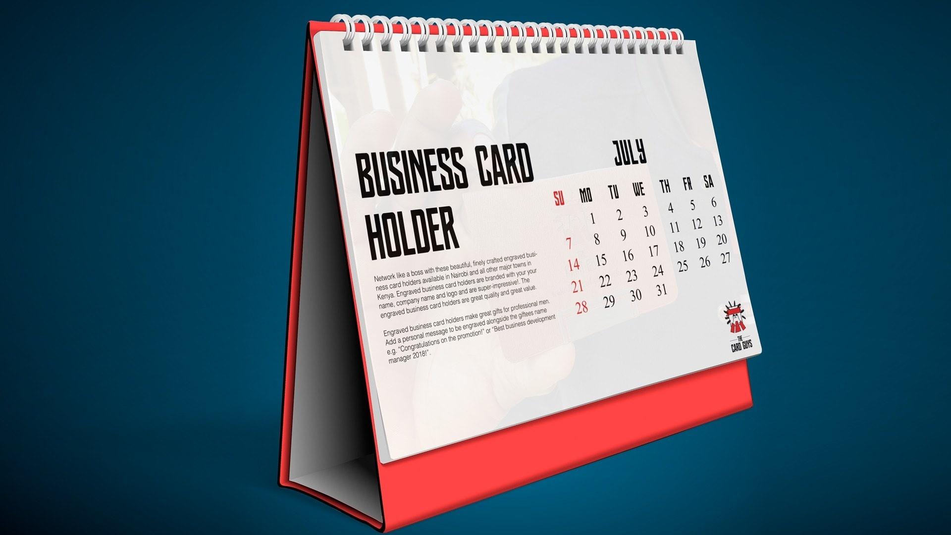 Print Desk Calendars Online In Nairobi Kenya | The Card Guys_Calendar Printing In Kenya