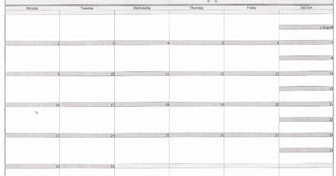 Print Empty Calendar Outlook | Jazz Gear_Printing Empty Calendar Outlook