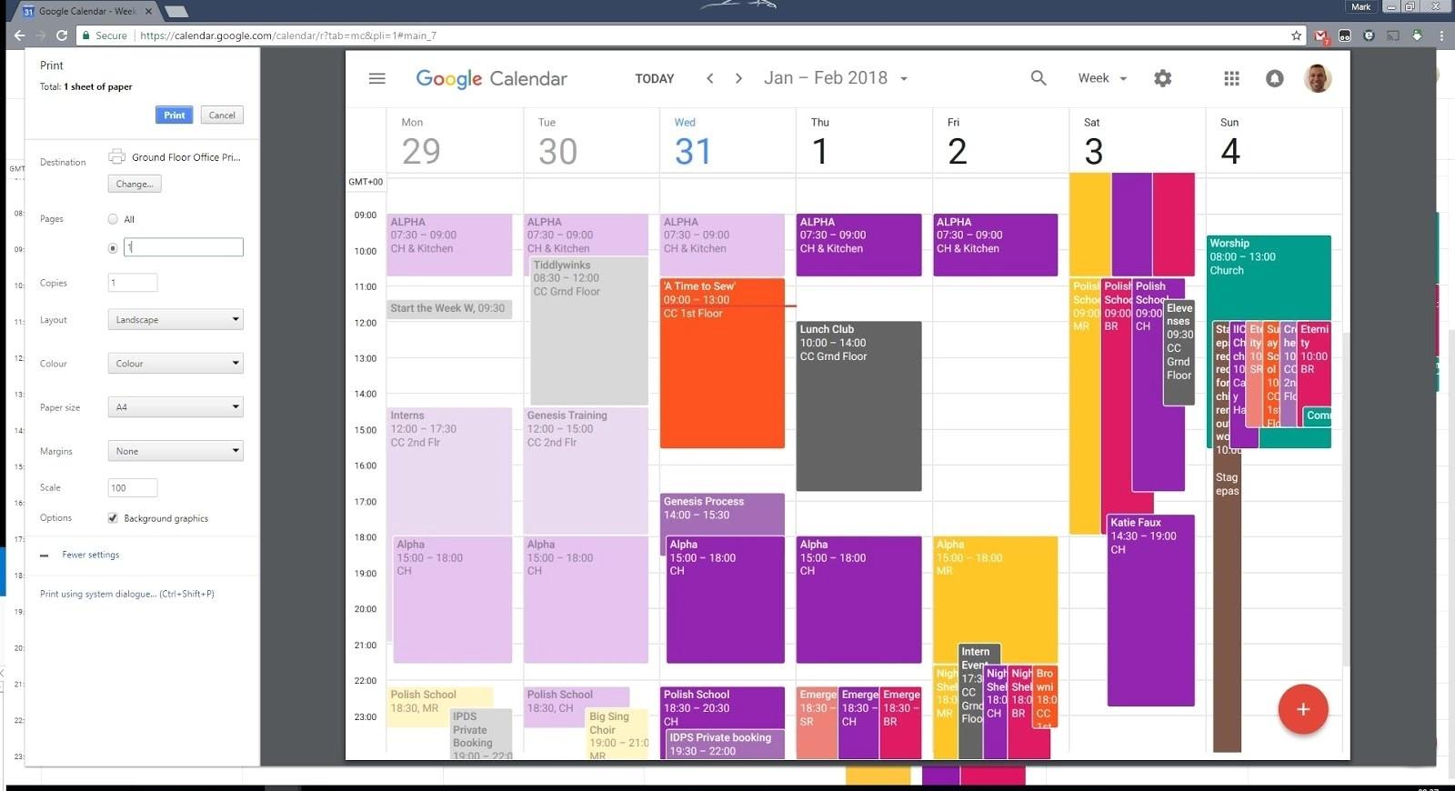 Print Google Calendar With Details  </p>   </div>        <br>     <div class=