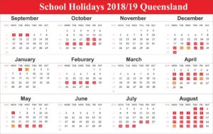 Printable 2019 Calendar With Qld School Holidays   Create Calendar_School Calendar 2020 Qld
