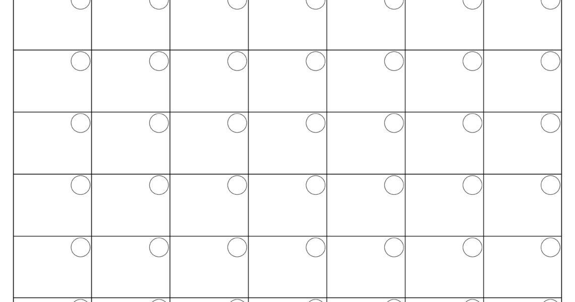 Printable Blank Monthly Calendar | Calendar Template Printable_Calendar Month Template Blank