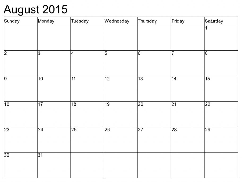 Printable Calendar 8 X 11 | Printable Calendar 2019_8 X 11 Blank Calendar Template