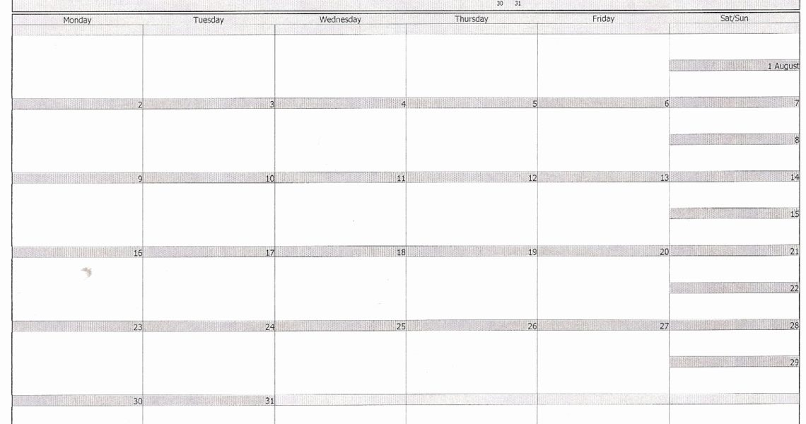 Printable Calendar In Outlook | Printable Calendar 2019_Print A Blank Calendar In Outlook