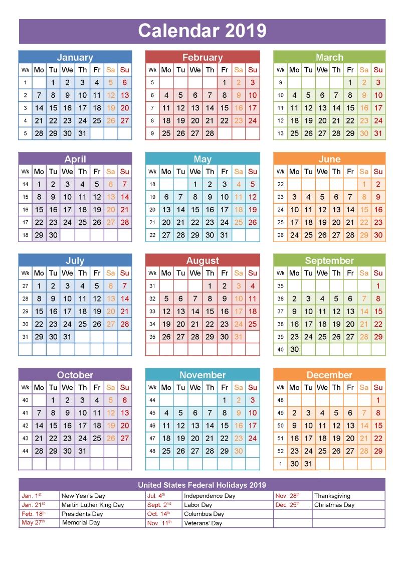 Printable School Calendar 2019 South Africa  </p>   </div>        <br>     <div class=
