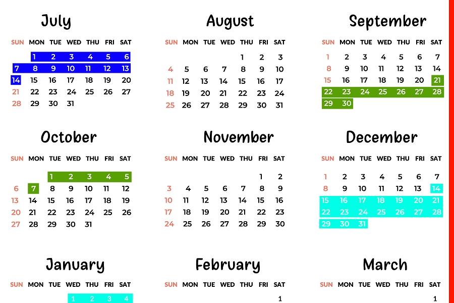 Qld School Holidays Calendar 2019 – 2020 | Qld School Holidays_2020 Calendar Queensland State Schools