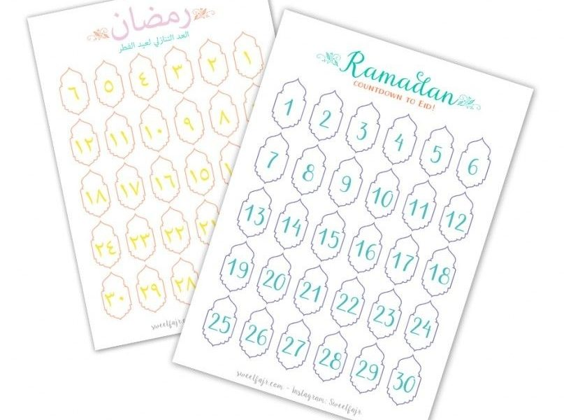 Ramadan Countdown – Free Download Calendar | Ramadan | Ramadan_Calendar Countdown Free Download