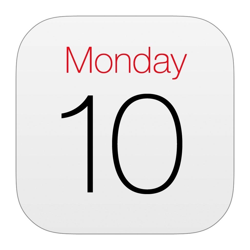 Restore Calendar Icon On Iphone 6 • Printable Blank Calendar Template_Restore Calendar Icon On Ipad