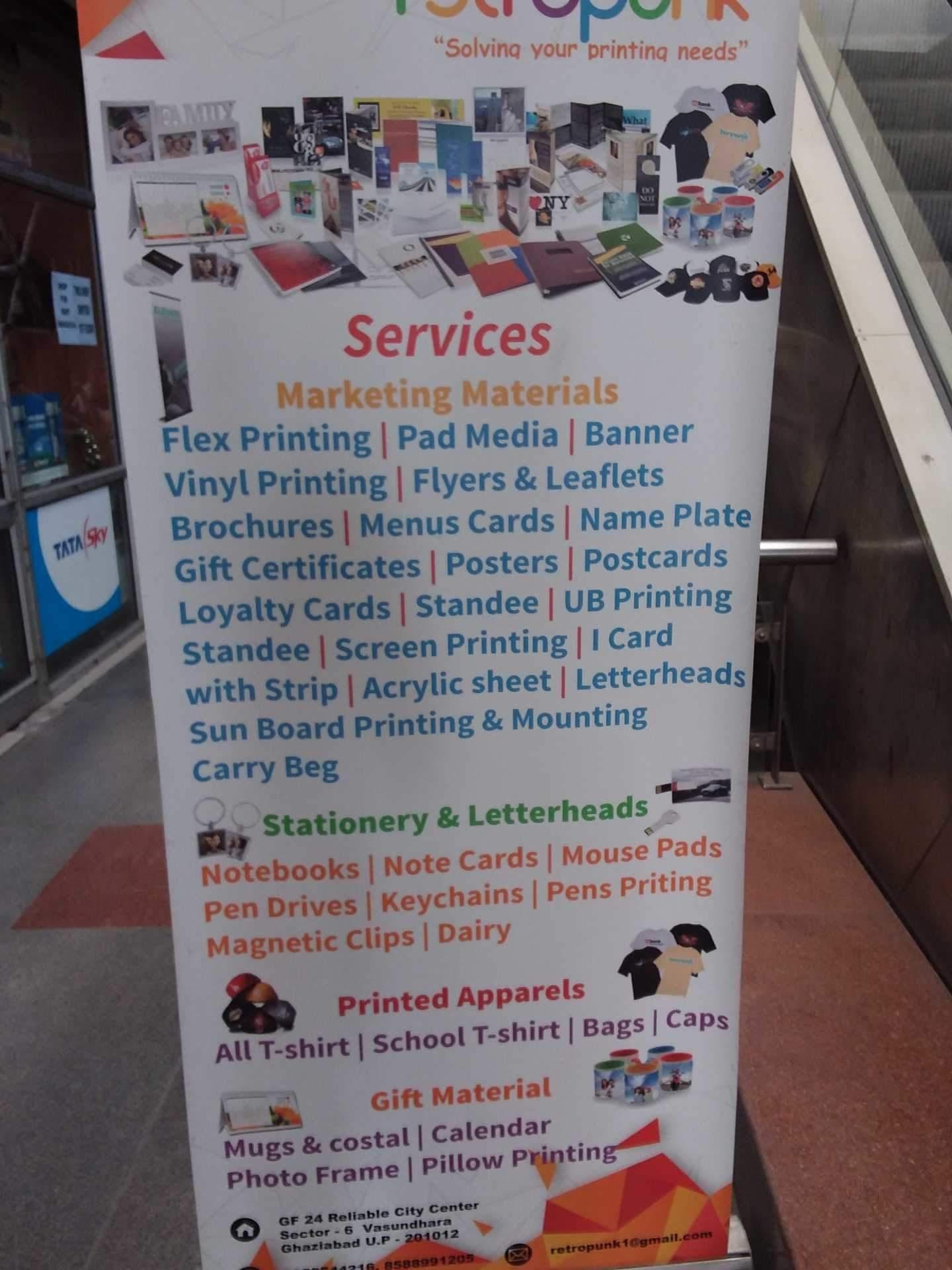 Retropunk, Vasundhara Sector 6 - Printing Press In Ghaziabad, Delhi_Calendar Printing In Ghaziabad